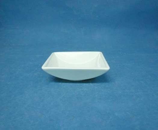ถ้วยน้ำจิ้มสี่เหลี่ยม,ถ้วยใส่ซอส,ซอสดิส,Square Low,Dip Bowl,รุ่นP6912,ขนาด 9x9 cm,เซรามิค,พอร์ซเลน