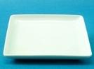 จานเซรามิค,จานสี่เหลี่ยม,จานโชเพลท,จานใส่อาหาร,Square Plate,รุ่น P4107,ขนาด 30 cm.เซรามิค,พอร์ซเลน