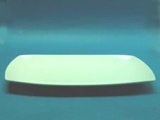 จานเซรามิก,จานสี่เหลี่ยม,จานโชเพลท,จานสเต็ก,จานใส่อาหาร,Show,Square Plate,รุ่นP4119,ขนาด 32 cm