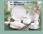 ถ้วยใส่เนย,ถ้วยน้ำจิ้ม,ถ้วยซอส,Sauce Dish,รุ่น P0299 ขนาด 9.5 cm,เซรามิค,พอร์ซเลน,Ceramics,Porcelain