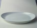 จานวงรี,จานโอเวล,จานใส่กับข้าว,Oval Plate,รุ่น P0224 ขนาด 38cm,เซรามิค,พอร์ซเลน,