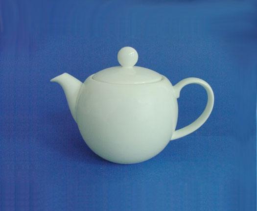 โถชา,โถใส่ชากลม,ทีพอท,Tea Pot Round,N2976L,ความจุ 0.45 L,เซรามิค,โบนไชน่า,Ceramics,Bone,China,Chinaw