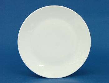 จานหวาน,จานแบ่ง,Dessert Plate 21 cm.รุ่น P0237 จานเซรามิค,พอร์ซเลน,Ceramics,Porcelain,Chinaware,Thai