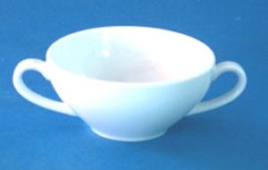 ถ้วยซุป 2 หู,Soup Cup 2 Hold,รุ่น P0206 ความจุ 0.23L,เซรามิค,พอร์ซเลน,Ceramics,Porcelain,Chinaware,T