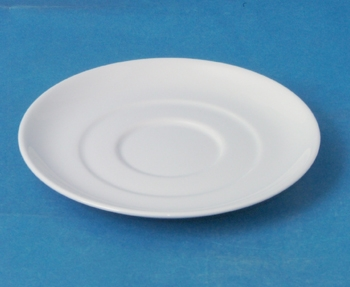 จานรองถ้วยซุป,Soup Cup Saucer,รุ่น P0240 ขนาด 16.5 cm,เซรามิค,พอร์ซเลน,Ceramics,Porcelain,Chinaware,