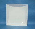 จานเซรามิค,จานสี่เหลี่ยม,จานพาสต้า,จานก้นลึก,Square Large,Deep Pasta,Plate,P6906