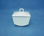โถน้ำตาล,ซูการ์โบล,Sugar Bowl,P6940,ความจุ 0.275 L,เซรามิค,พอร์ซเลน,Ceramics,Por