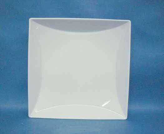 จานเซรามิค,จานสี่เหลี่ยม,จานพาสต้า,จานก้นลึก,Square Large,Deep Pasta,Plate,P6906,ขนาด 25x25 cm