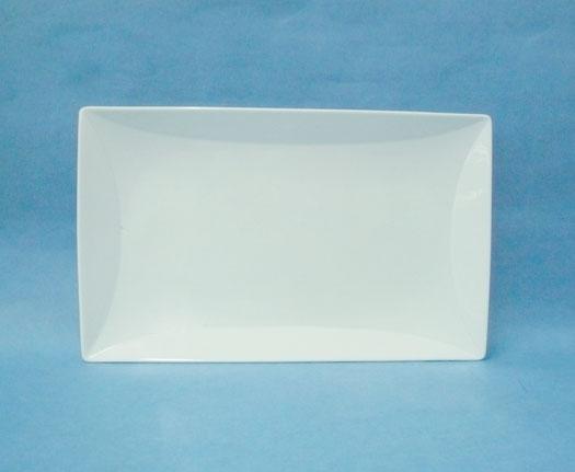 จานเซรามิค,จานสี่เหลี่ยม,ผืนผ้า,จานใส่อาหาร,Rectangular Tray,Platter,รุ่นP6946,ขนาด17.5x29cm.เซรามิค
