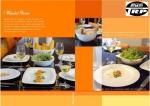 N2991 ชามสลัด,สี่เหลี่ยม,ถ้วยสลัดโบล,Square,Salad Bowl,ขนาด 13x13 cm,เซรามิค,โบนไชน่า,Ceramics,Bone,