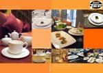 N2975L โถชา,โถใส่ชากลม,ทีพอท,Coffee Pot Round,ความจุ 0.75L,เซรามิค,โบนไชน่า,Cera
