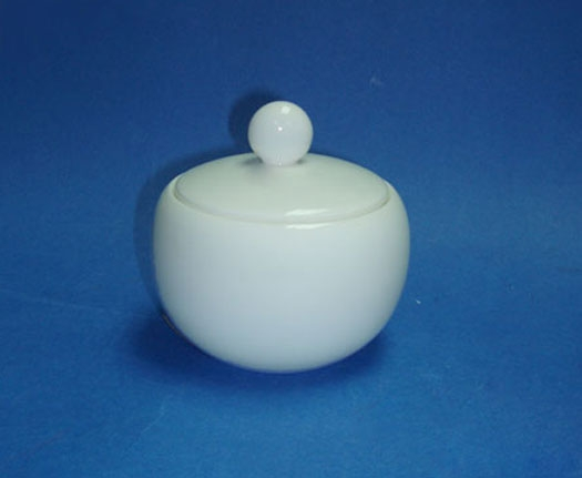 N2980L โถน้ำตาล,ซูการ์โบล,Sugar Bowl,ความจุ 0.22 L,เซรามิค,โบนไชน่า,Ceramics,Bone,China,Chinaware,Th