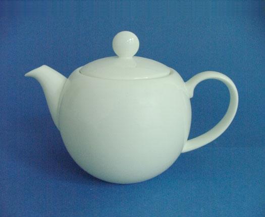 N2975L โถชา,โถใส่ชากลม,ทีพอท,Coffee Pot Round,ความจุ 0.75L,เซรามิค,โบนไชน่า,Ceramics,Bone,China,Chin