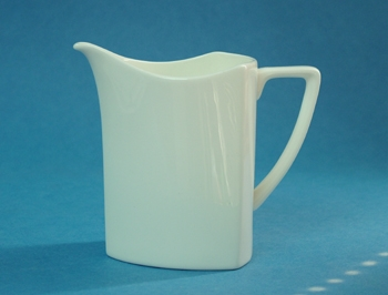 ครีมเมอร์,โถใส่ครีม,โถใส่นม,ชุดเสริฟกาแฟ,Creamer,N3445,ความจุ 0.18 L,เซรามิค,โบนไชน่า,Ceramics,Bone