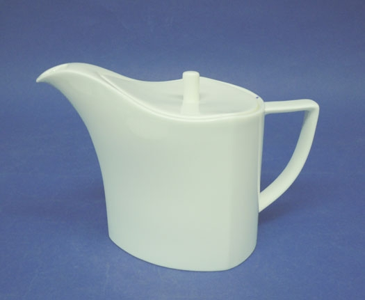 โถชา,โถใส่ชา,ทีพอท,ชุดเสริฟชา,Tea Pot,N3437L,ความจุ 0.65 L,เซรามิค,โบนไชน่า,Ceramics,Bone,China,Chin