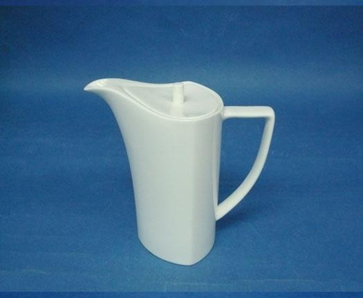โถกาแฟ,ชุดกาแฟ,คอฟฟี่พอท,Coffee Pot,N3436L,ความจุ0.48L,เซรามิค,โบนไชน่า,Ceramics,Bone,China,Chinawar