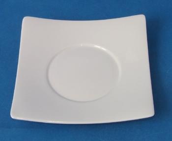 จานรองถ้วยซุป,Soup Cup Saucer,N3422,ขนาด 16.5 cm,เซรามิค,โบนไชน่า,Ceramics,Bone China,Chinaware,Thai