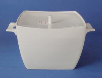 หม้อใส่ซุป,โถใส่ข้าว,ซุปทูรีน,Soup Tureen,N3420L,ความจุ 2.3 L,เซรามิค,โบนไชน่า,Ceramics,Bone,China,C
