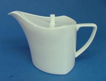โถชา,โถใส่ชา,ทีพอท,ชุดเสริฟชา,Tea Pot,N3418L,ความจุ 1.L,เซรามิค,โบนไชน่า,Ceramics,Bone,China,Chinawa