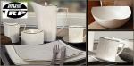 ชามสลัด,สลัดโบล,ถ้วยกลม,ถ้วยซุป,Round,Salad,Soup Bowl,N3406,ขนาด 25.5 cm,เซราิมิ