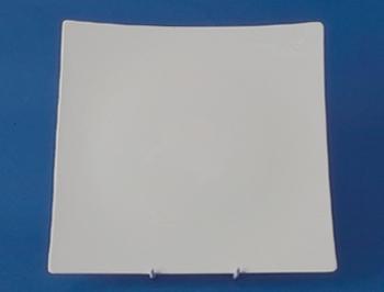 จานดินเนอร์,จานข้าว,จานสี่เหลี่ยม,Square Dinner Plate,N3401,ขนาด 26 cm,เซราิมิค,โบนไชน่า,Ceramics,Bo