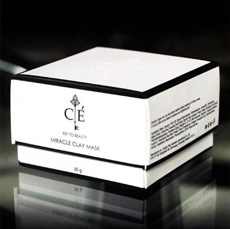 Cle' Miracle clay mask 30g