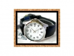 นาฬิกาCasio รุ่นMTP-1183E -7B สีเงิน สายหนัง สำหรับสุภาพบุรุษ
