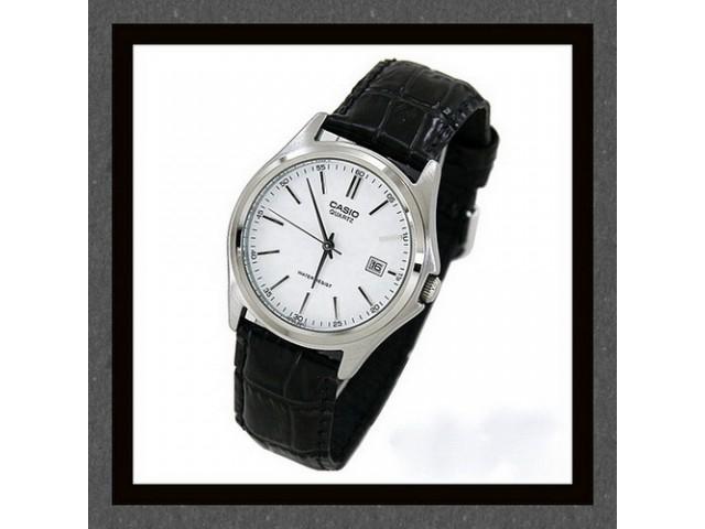 นาฬิกา Casio รุ่นMTP-1183E สีเงิน สายหนัง สำหรับสุภาพบุรุษ