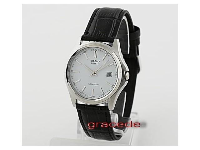นาฬิกา Casio รุ่น LTP1183E-7 สีเงิน สายหนัง สำหรับสุภาพสตรี