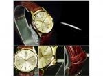 นาฬิกา Casio รุ่น LTP1183Q-9A สีทอง สายหนัง สำหรับสุภาพสตรี