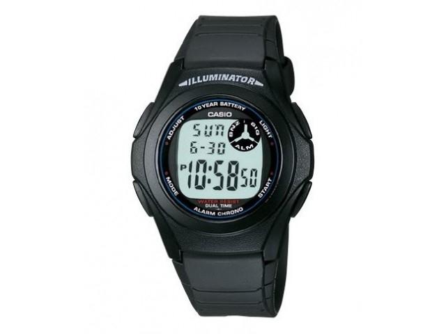 นาฬิกา Casio F-200W นาฬิกาcasio F200W ระบบดิจิตอล 10ปีแบตเตอรี