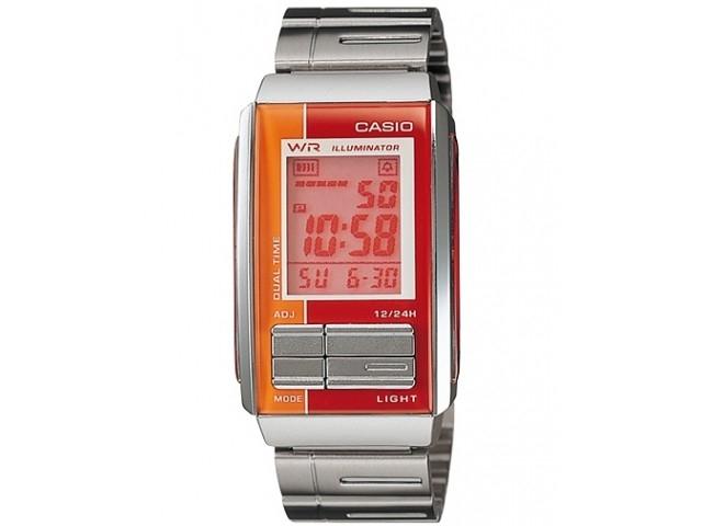 นาฬิกาข้อมือ คาสิโอ Casio Futurist รุ่น LA-201W-4ADF สำหรับผู้หญิง