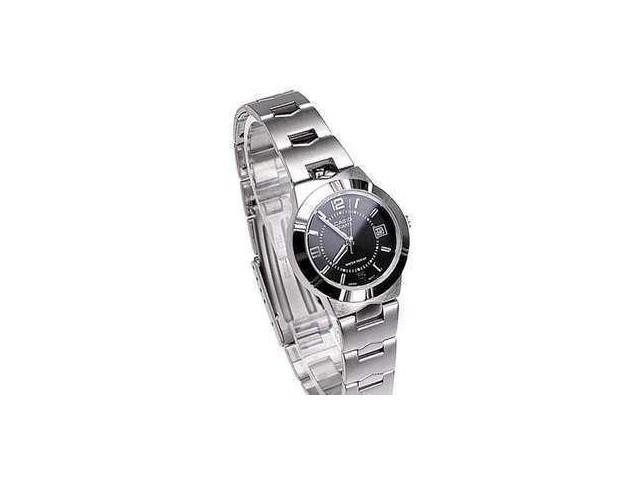 นาฬิกา Casio รุ่น LTP1241D-1A สีดำ สำหรับสุภาพสตรี นาฬิกาแฟชั่น