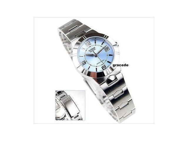 นาฬิกา Casio รุ่น LTP1241D-2ADF สิฟ้าสำหรับสุภาพสตรี