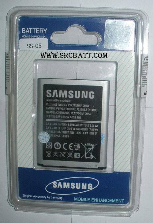 แบตเตอรี่มือถือยี่ห้อ Samsung Galaxy S3 III,i9300,i9308 ความจุ 2100mAh (SS-05)