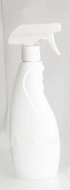 ขวดสเปรย์เปล่า HDPE 500ml สำหรับบรรจุผลิตภัณฑ์ทำความสะอาด, กำจัดแมลง
