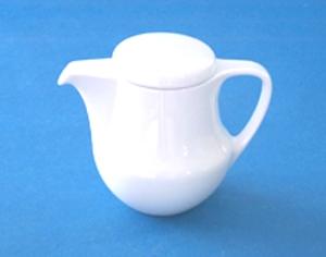 โถกาแฟ,โถชาม,TEA POT,0.44 L,P0933,เซรามิค,พอร์ซเลน,Ceramics,Porcelain,Chinaware,Thai