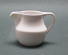 โถครีมเทียม,CREAMER,ขนาด 0.15 L. รุ่น P0937,เซรามิค,พอร์ซเลน,Ceramics,Porcelain,Chinaware,Thai