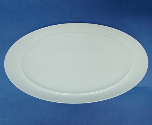 จานเซรามิค,จานวงรี,จานโอเวล,จานเปล,Oval Plate,20.0x36.0cm,เซรามิค,แม็กซาดูร่า