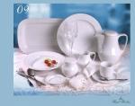 จานเซรามิค,จานดินเืนอร์,Dinner Plate 26 cm.รุ่น P0201 เซรามิก,พอร์ซเลน,Ceramics,Porcelain,Chinaware,