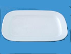 จานสี่เหลี่ยมมุมมน,จานใส่อาหาร,จานแบ่ง,จานสี่เหลี่ยมรูปไข่,OVAL RECTANGULAR PLATTER ,ขนาด 32.0 CM ,