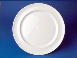 จานกลม,จานข้าว,จานดินเนอร์เพลท,Dinner Plate,ขนาด 28 cm,เซรามิค,เนื้อแมกซาดูร่า,Ceramics,Maxadura