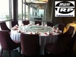 กระจกจานหมุนบนโต๊ะอาหาร,เรซีซูัซัน,เลซี่ซูซาน,Glass,Lazy Susan,ขนาด 60 cm,Banquet,บนโต๊ะ,อาหาร