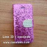 เึคสไอโฟน4/4s เคสกากเพชรสีชมพู