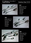 มีดคาวสแตนเลส,Handmade,Dinner Knife,รุ่น535B,Stainless 18/8,18/10 Flatware,Thai,รับประกันปลอดสนิม
