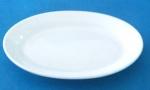 จานเซรามิค,จานวงรี,จานเปล,ใส่อาหาร,Oval Plate,รุ่นP4026,ขนาด 26.5cm,เซรามิค,พอร์