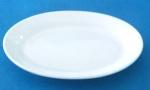 จานเซรามิค,จานวงรี,จานเปล,ใส่อาหาร,Oval Plate,รุ่นP4027,ขนาด 20 cm,เซรามิค,พอร์ซ