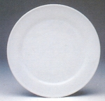 จานเซรามิค,จานดินเนอร์,เพลท,จานกลม,จานข้าว,Round Dinner Plate,P4039,ขนาด 26.5 cm