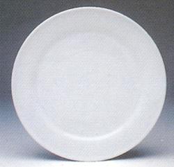จานเซรามิค,จานดินเนอร์,เพลท,จานกลม,จานข้าว,Round Dinner Plate,P4039,ขนาด 26.5 cm,เซรามิค,พอร์ซเลน,Ce