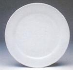จานเซรามิค,จานกลม,จานบีบี,จานแบ่ง,ใส่ขนมปัง,BB Dessert Plate,P4042 ,ขนาด 17 cm,เ
